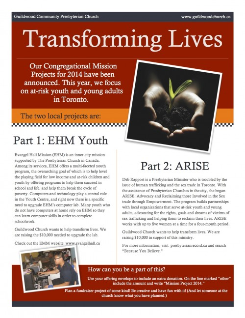 Mission Project 2014 flyer web