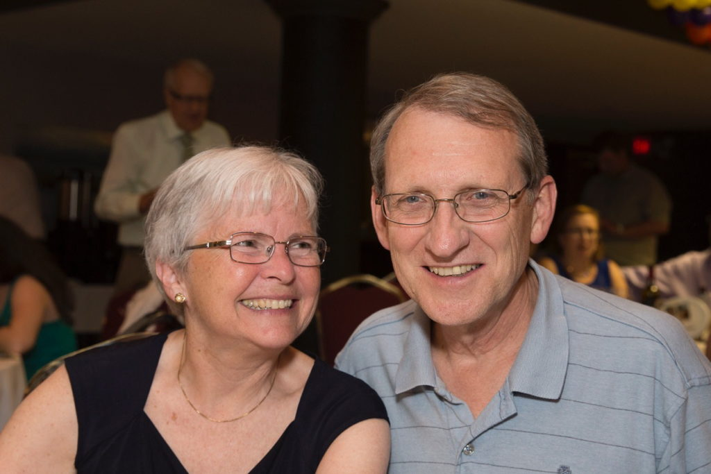 Headshot of the interim ministers of the church, the Revs H and B Smith